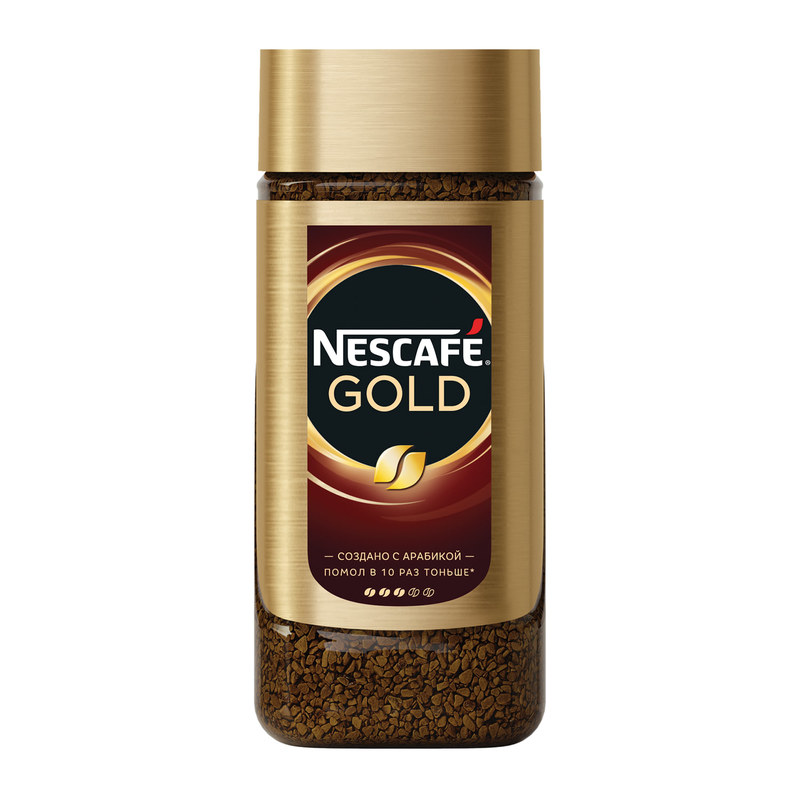 Nescafe Gold 95 гр (стекло)